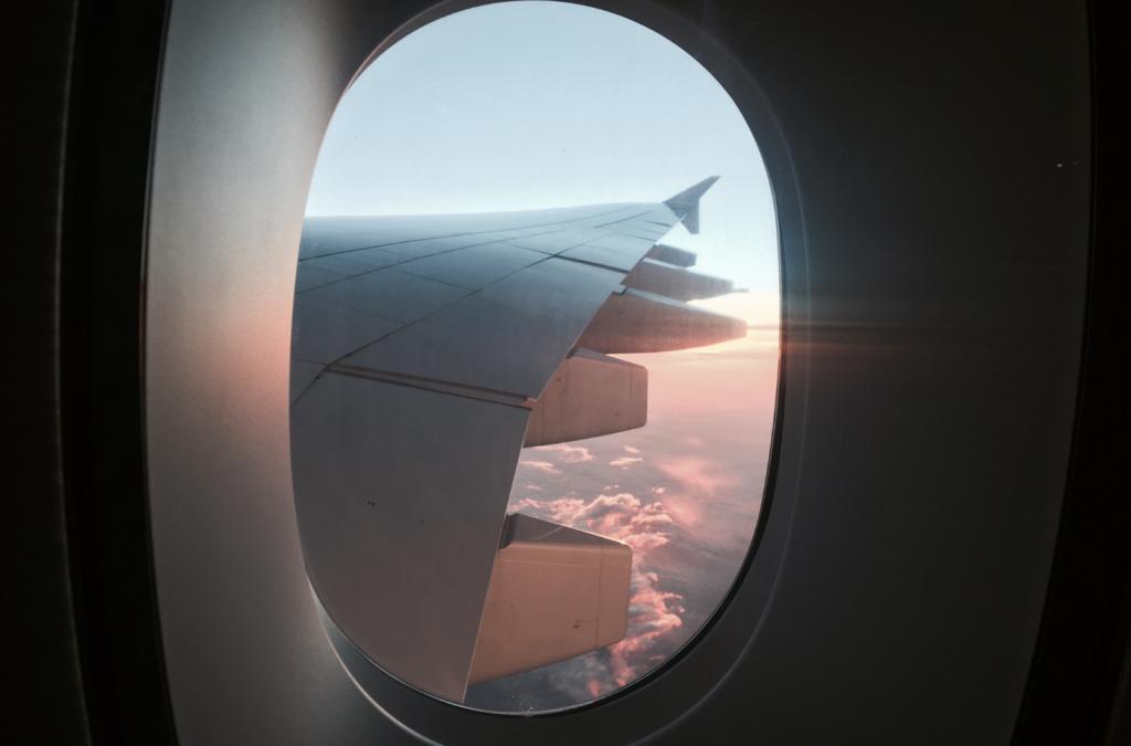 vliegtuig, plane, view, Zo deal je met wanderlust tijdens de Coronacrisis, reisinspiratie
