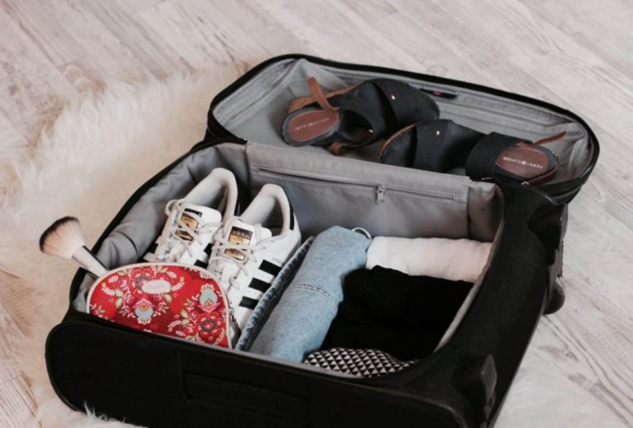 handbagage, inpaktips