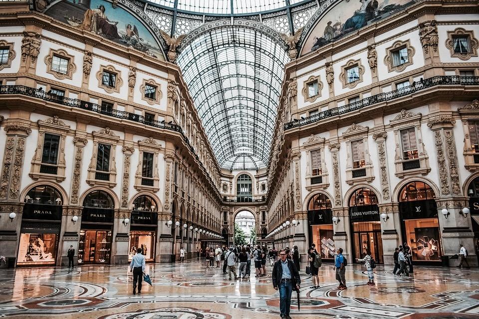 Vittorio Emanuele II, Milaan
