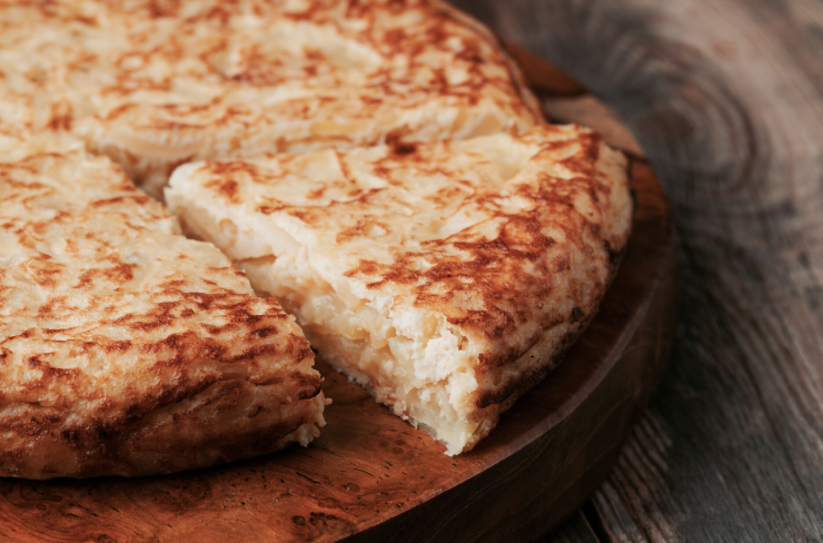 makkelijke tapas recepten, spaanse tortilla