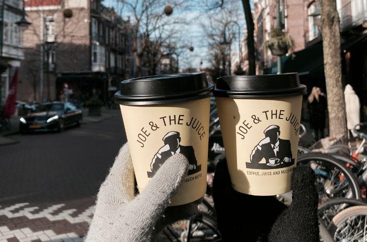 joe & the juice - koffie to go amsterdam zuid
